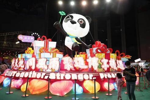 在第三届进博会开幕倒计时100天之际,青浦区召开第三届进博会媒体通气会