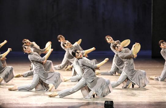 上海歌舞团舞剧《永不消逝的电波》首次来到浦东,在上海东方艺术中心献演