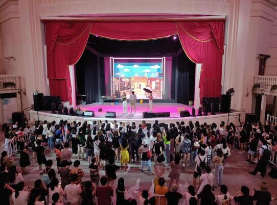 """""""演艺大世界""""的产业引擎,助力上海建设""""亚洲演艺之都""""战略的加速推进"""