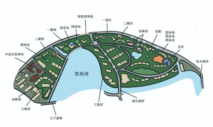 中远两湾城——上海内环最大的小区,比世界上最小的国家梵蒂冈要大很多