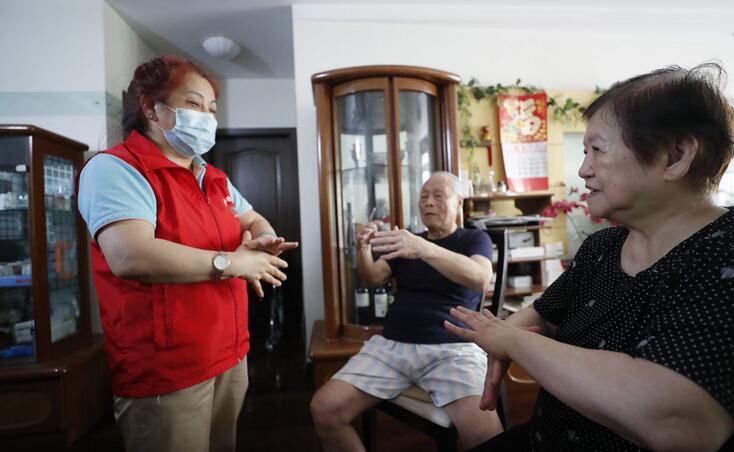 """上海""""老吾老计划——家庭照护能力提升项目"""",南京西路街道成为首批试点街道"""